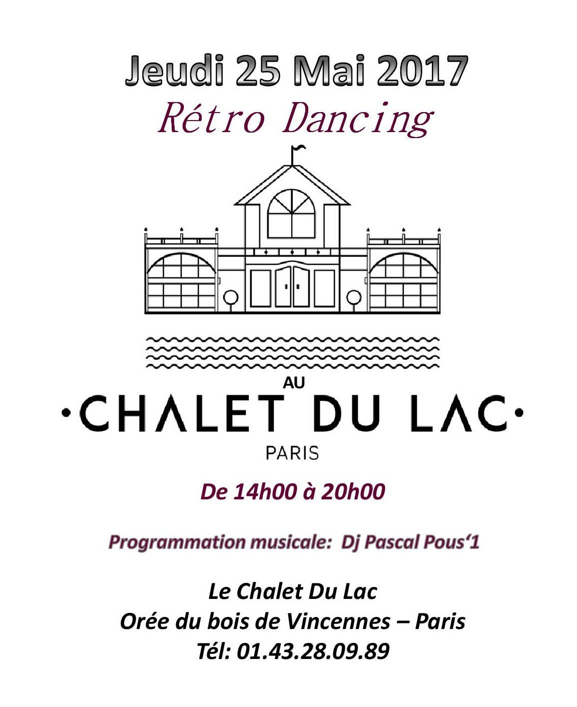 Jeudi 25 mai f ri retro dancing au chalet du lac - The dancing chalet ...